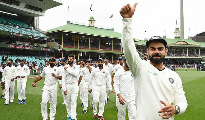 Kohli's Naagin Dance After India's Oz Win