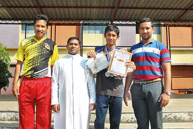 Sujal Tathe Selected For National Athletic Championship