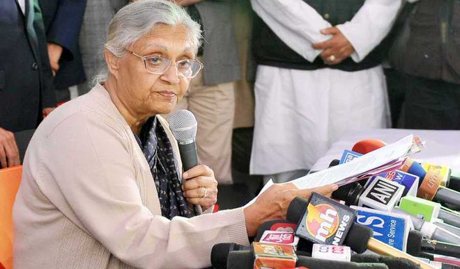 Congress Puts Sheila Back In Charge In Delhi For LS elections