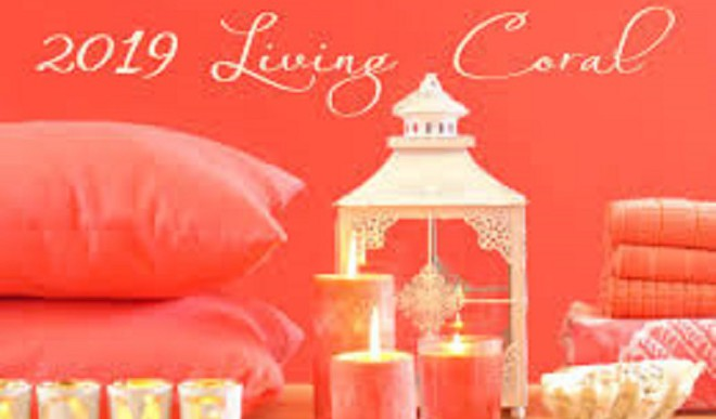 The Colour 'Living Coral' In Decor