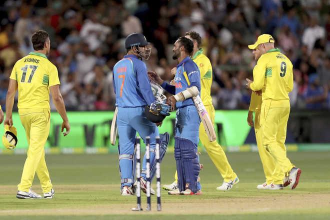 Kohli, Dhoni Earn Series Leveling Win