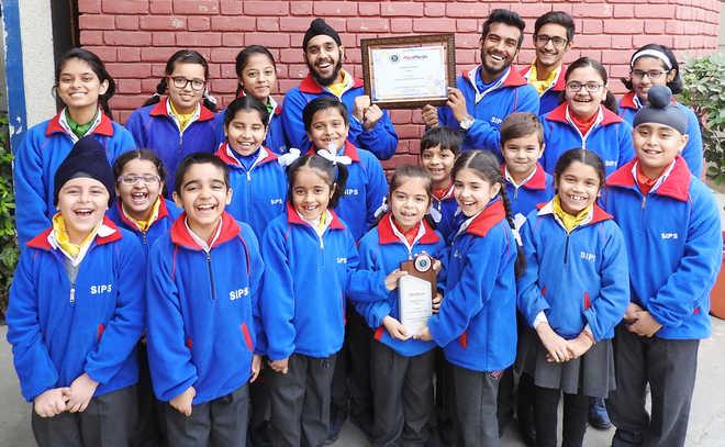 'The Happiest School Award Winner' for Swaraj India