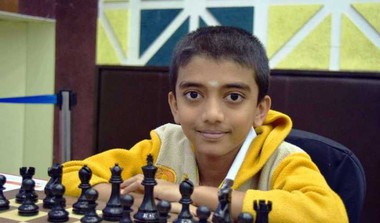 12YO Gukesh Becomes World's Second Youngest GM