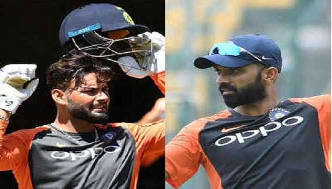 Pant, Rahane In WC Contingency Plan