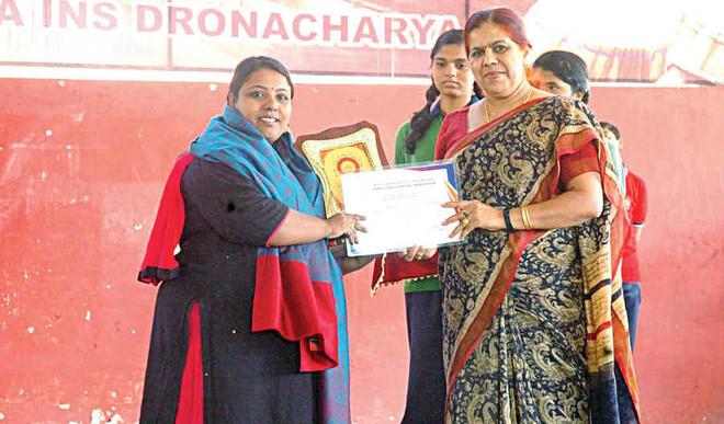 Kendriya Vidyalaya, INS Dronacharya, Mundamveli