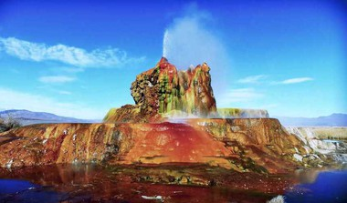 Fly Geyser: One Of The Most Bizarre Natural Wonders