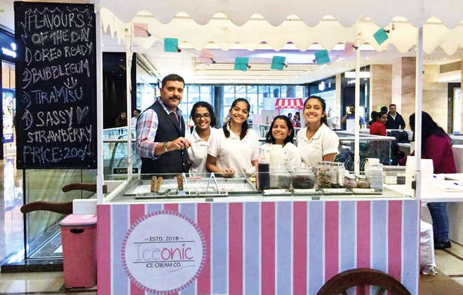 Young Entrepreneurs Make It Big - With Ice Cream Rolls!