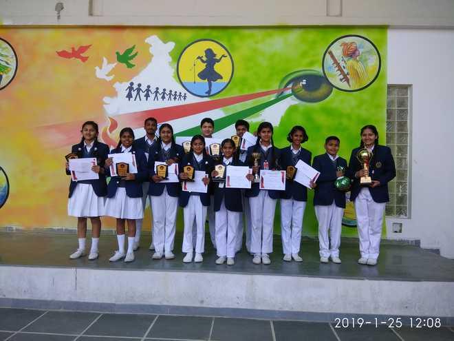 Meritorious Students Bag Awards