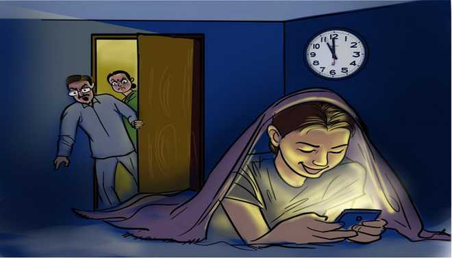 Night-time Screen Causes Poor Sleep