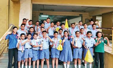 Students Launch Miniature Satellites In School