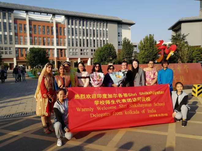Shri Shikshayatan's China sojourn