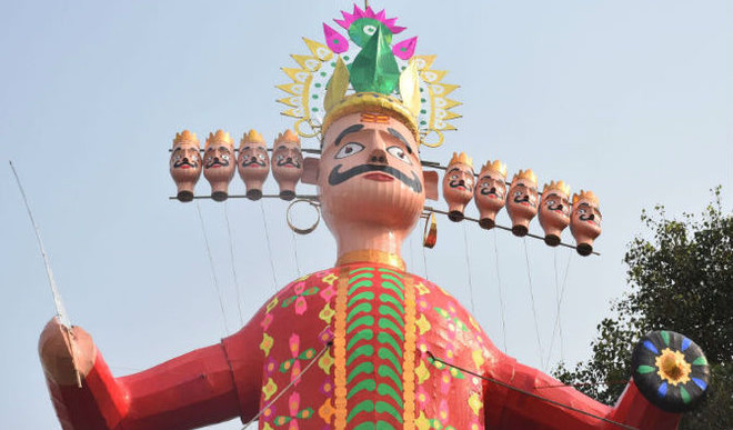 Modern-Day Ravana To Be Recycled For Green Cause