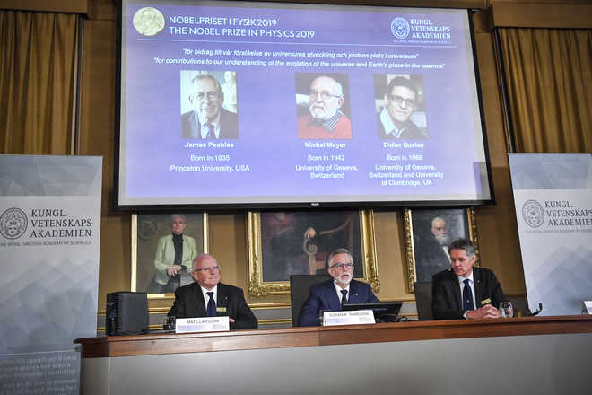 Trio Wins 2019 Nobel Prize For Physics