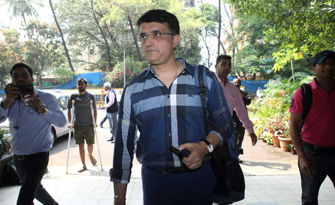 Will be challenge to serve as BCCI chief: Ganguly