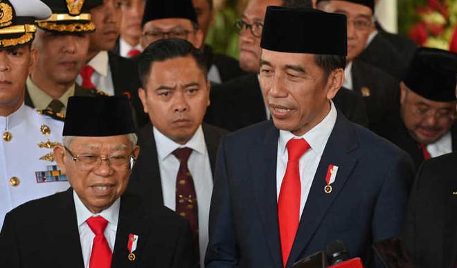 Indonesia's Prez Sworn In For 2nd Term