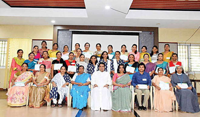 Workshop on special education held