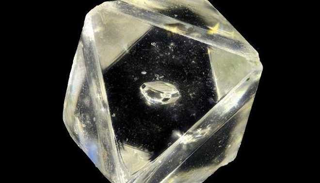Scientists Found Unknown Mineral Inside A Diamond