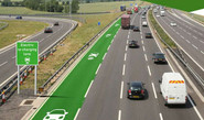 Road That Charges Electric Vehicles On-The-Go