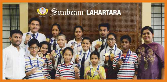 Sunbeam Lahartara excels in East Zone Chess & Skating Championships