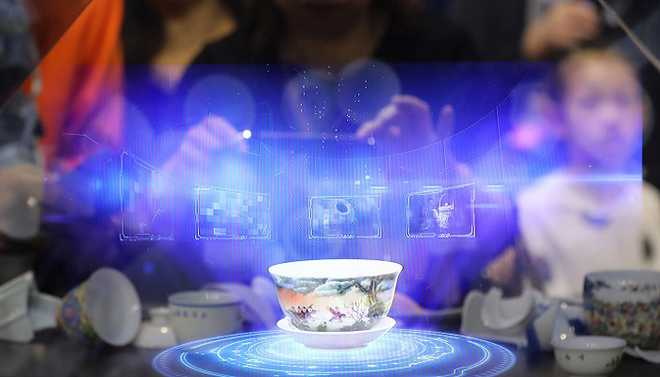 Printer Created Realistic 3D Hologram