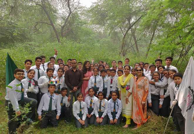 Seed Cracker Campaign at Delhi Public School, Indira Nagar