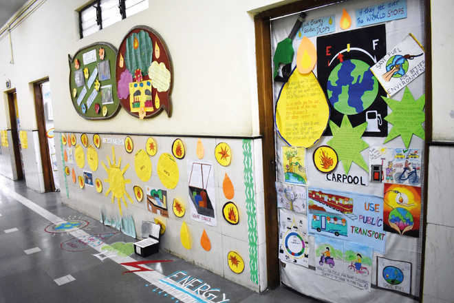 Doors Go 'Green' At School