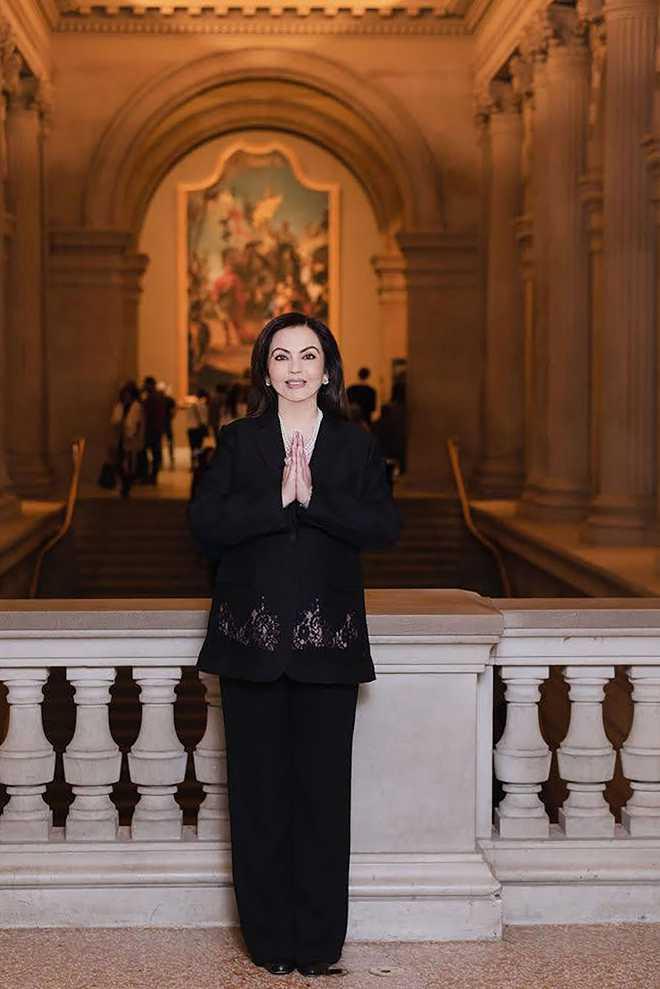 Nita Ambani first Indian to be board member of Metropolitan Museum