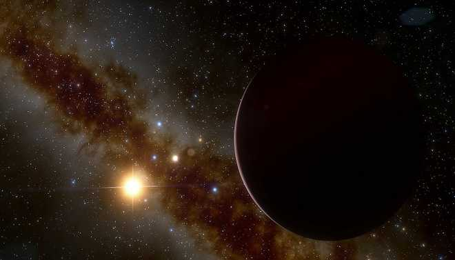 Black Hole Hurls Out A Star From Milky Way