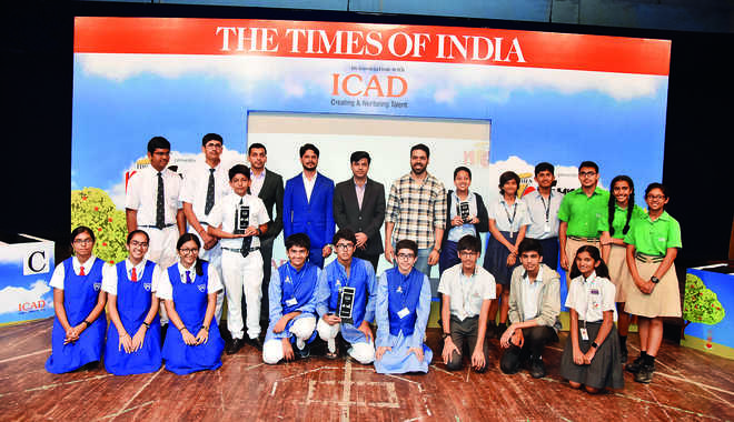 Sanskriti School Wins Times NIE Fundamental Quiz 2019-20