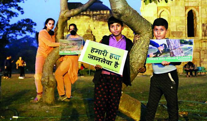 Kids Depose Before Jury: On Pollution Holidays