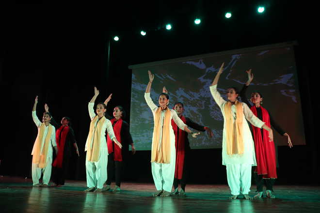 Peace Day celebrations at Indus Valley World School