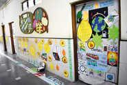 Doors Go 'Green' At School