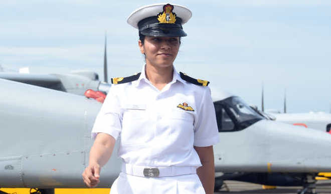 Shivangi Is First Woman Pilot For Indian Navy