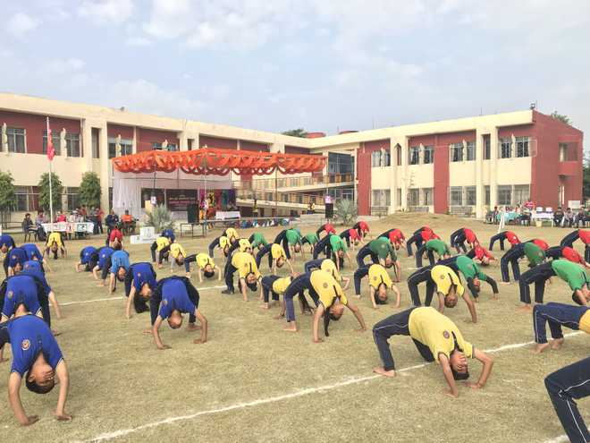 Students Showcase Agility, Dexterity In Sporting Events