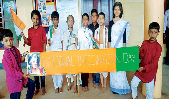 National Integration Day celebrated