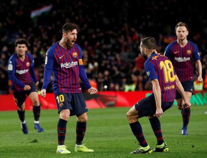 Inspirational Messi Rescues Barca