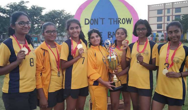 National Throwball Champs Honoured