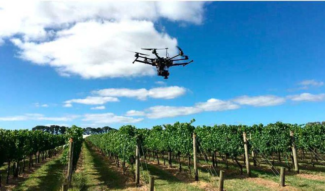 Indian Students Develop Drone For Crop Surveillance