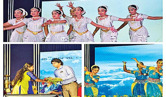 Children showcase scintillating performances