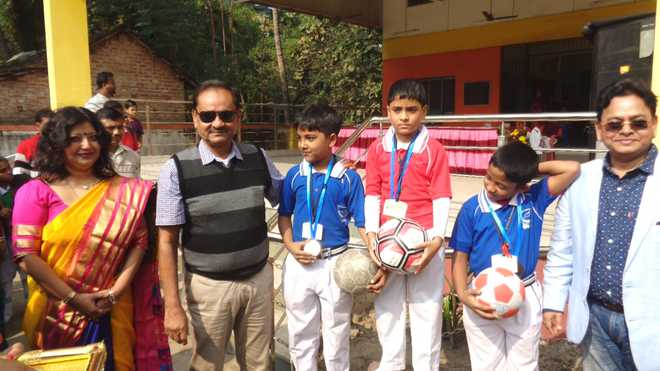 National English School holds annual sports meet