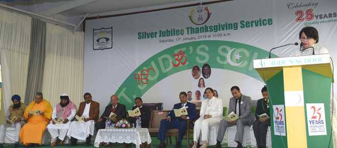 Service To Society On Silver Jubilee Celebrations