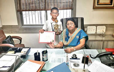 Crescent Boy Scores At National Spell Bee Contest