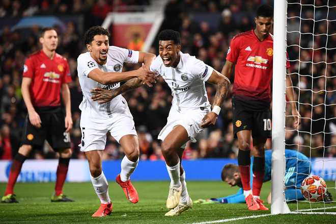 PSG End Man Utd's Unbeaten Run