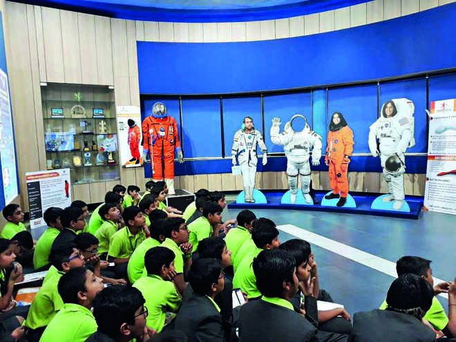 An enriching experience at ISRO