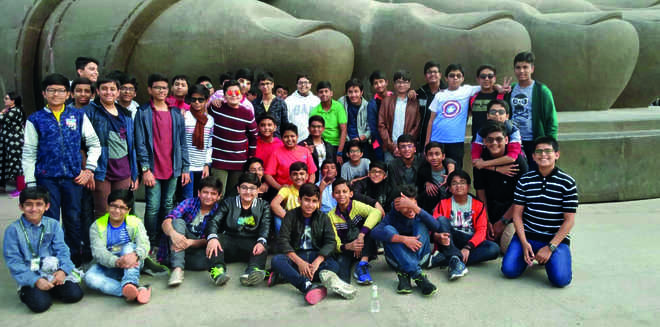Educational trip to statue of unity