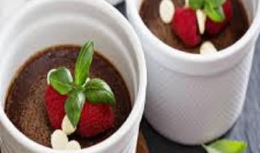 Chocolate Strawberry Pots