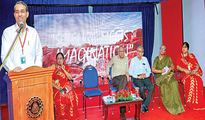 Colourful start to Bhavan's Science Exhibition 2019