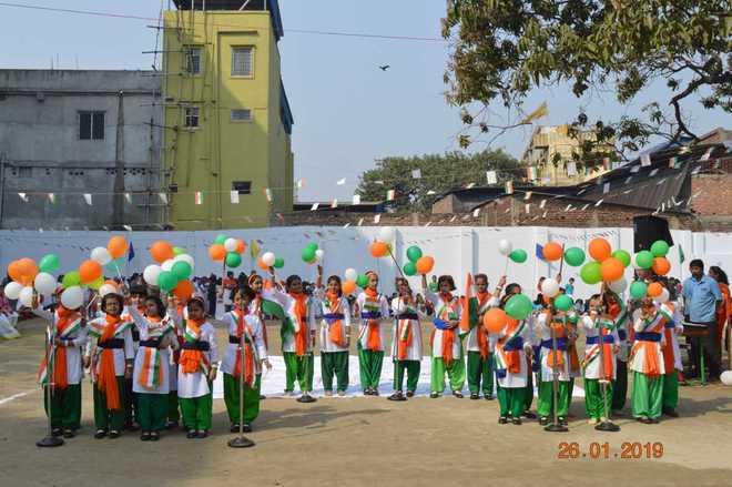 Republic Day at Agrasain Balika Siksha Sadan