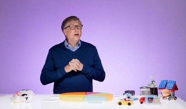 Bill Gates Uses Toys To Educate About Climate Change