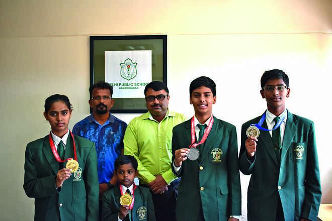 Taekwondo champions of DPSG
